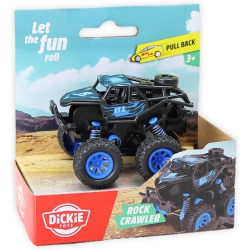 Rock Crawler hátrahúzós autó kék