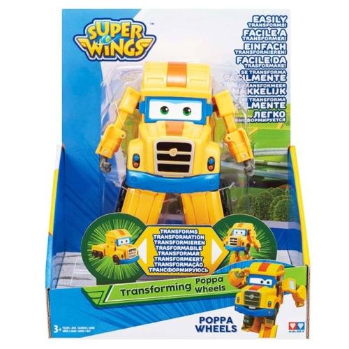 Super Wings Átalakuló kamion Poppa Wheels 14 cm