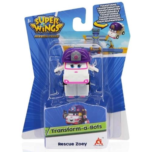 Super Wings Átalakuló mentőautó, Rescue Zoey (kicsi)