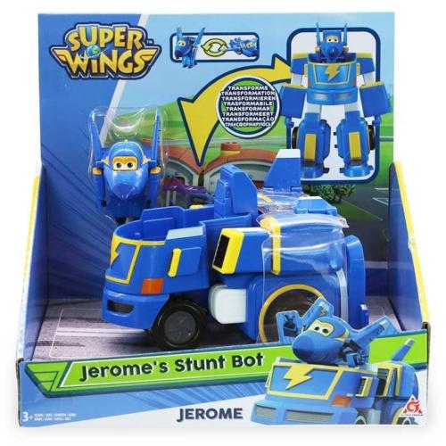 Super Wings átalakuló repülő és jármű, Jerome