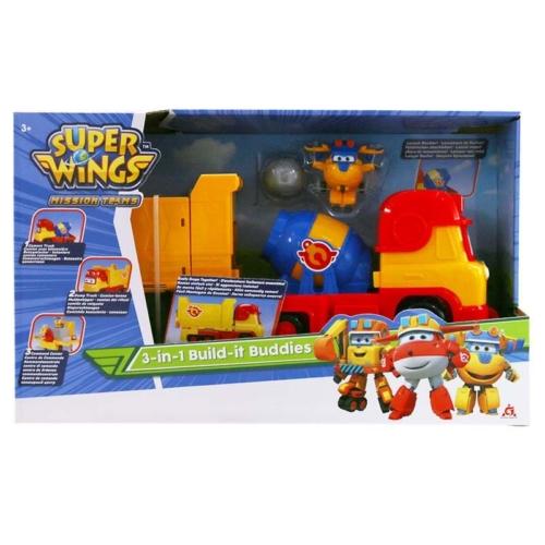 Super Wings Build-It Buddies 3 az 1-ben munkagép játékszett, Donnie