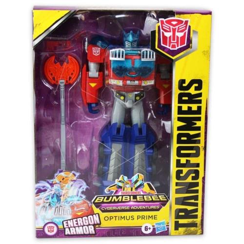 Transformers Bumblebee Cyberverse Adventures Optimus Prime figura kiegészítőkkel
