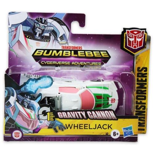 Transformers Bumblebee Gravity Cannon Wheeljack átalakítható játékfigura
