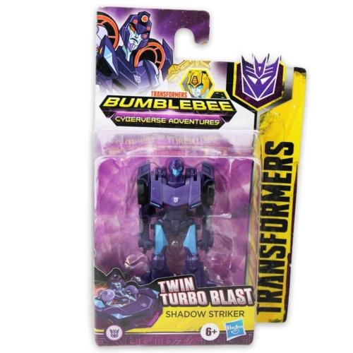 Transformers Bumblebee Twin Turbo Blast Shadow Striker átalakítható játékfigura
