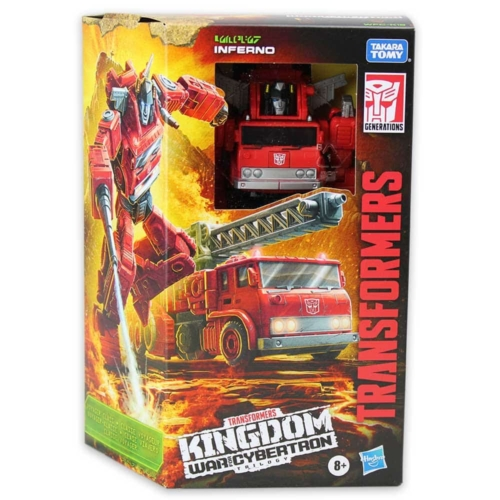Transformers Kingdom Inferno átalakítható játékfigura