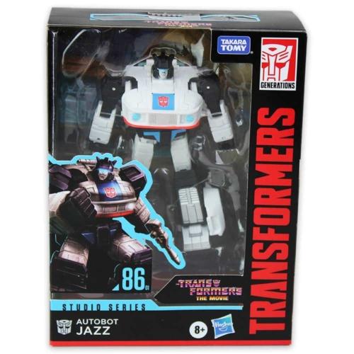 Transformers Studio Series 86-01 Autobot Jazz átalakítható játékfigura