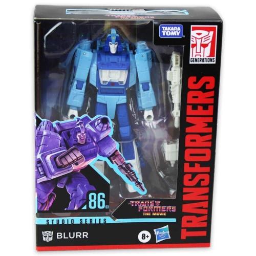 Transformers Studio Series 86-03 Blurr átalakítható játékfigura
