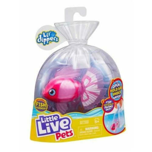 Úszkáló halacska Bellariva Lil dippers Little Live Pets
